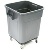 Trash Receptacle 32 gallon roll-away liners included