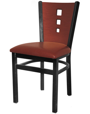 3 Square Restaurant Chair