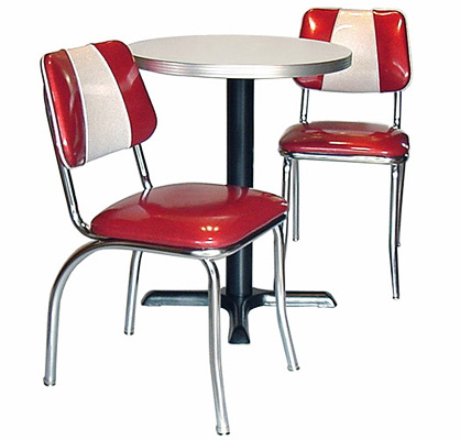 A Back Diner Chair Group