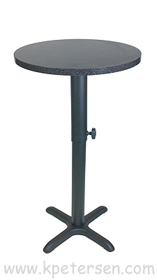 Adjustable Height Table Base Crossfoot Bottom Style Bar Height