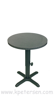 Adjustable Height Table Base Crossfoot Bottom Style Dining Height