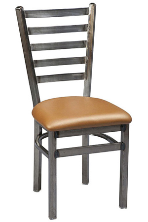 Alto Ladderback Steel Restaurant Chair