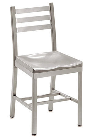 Alumaladder Aluminum Chair With Cast Aluminum Seat