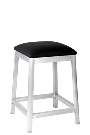 Backless Square Seat Alumano Aluminum Activity Height Stool