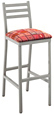 Aluminum Ladderback Bar Stool