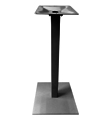 Aluminum Umbrella Bar Table Bases Black Finish