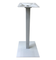 Aluminum Umbrella Bar Table Bases Silver Finish