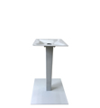 Aluminum Umbrella Table Base Silver Finish