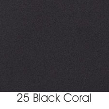 Black Coral Powder Coated Finish