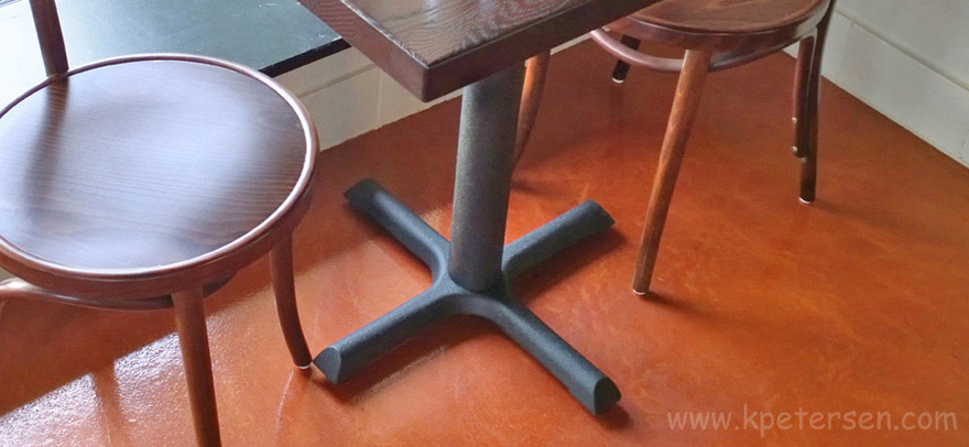Basic Restaurant Table Base