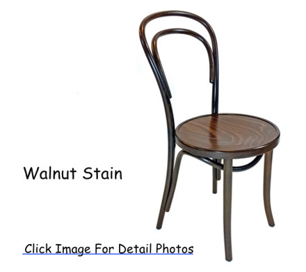 No. 14 Thonet Bentwood Chair Walnut Stain