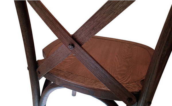 Bentwood Stacking Chair Back Detail