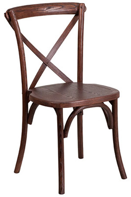 Bentwood Stacking Chair Front View Two