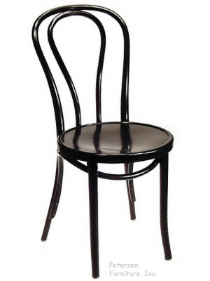 Bentwood Chair Theatrical Black Finish