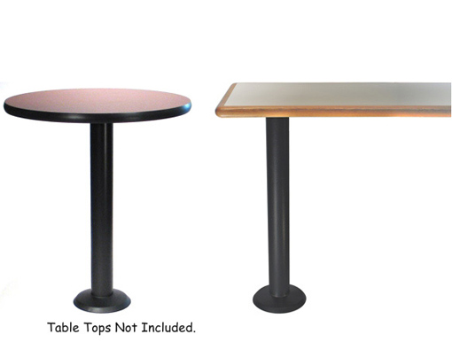 Economy Bolt Down Table Base Standard Height Selections