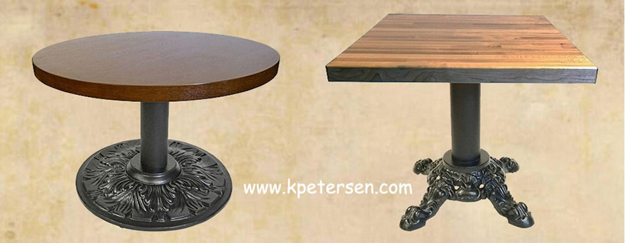 Victorian Reproduction Cast Iron Coffee Table Bases