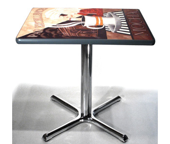 Chrome Crossfoot Table Base Installation