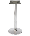 Stamped Steel Round Bottom Chrome Bar Table Base 18 Inch Diameter