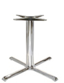 Chrome Table Base Budget Style 36 X 36