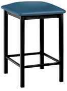 Backless Square Seat Counter Height Barstool Closeout