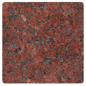Closeout Granite Restaurant Table Color Ruby Red