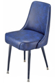 #3510 Plain Back Club Chair With Standard Legs