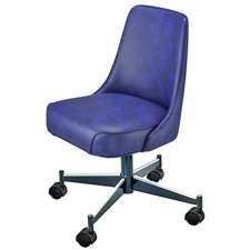 Upholstered Club Chair 3610 With Casters