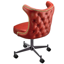 Upholstered Club Chair 3616 With Casters