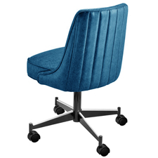 Upholstered Club Chair 3670 With Casters