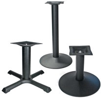 Coffee Table Height Bases and Special Height Bases