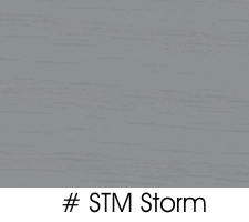 Storm Gray Opaque Finish For Oak Chairs and Stools