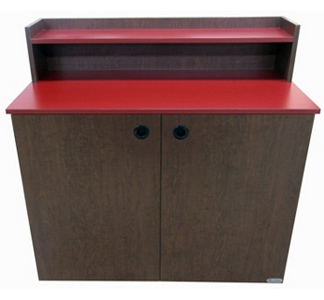 Fast Food Restaurant and Cafeteria Condiment and Storage Cabinet