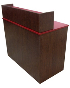 Fast Food Restaurant Condiment and Storage Cabinet Side View