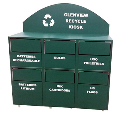 Custom Recycling Cabinet For Municipal Department