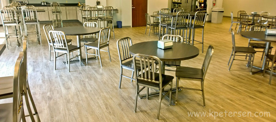 Deco Steel Chairs and Barstools Installation