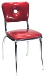 Big Button Back Diner Chair