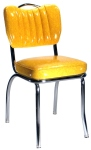 Deluxe Channel Back Diner Chair With Handle