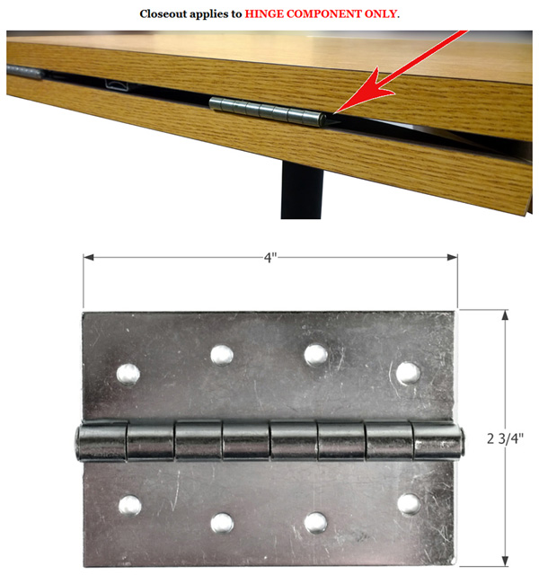 Drpleaf Table Hinge Closeout