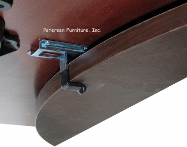 Drop Leaf Table Hardware Detail