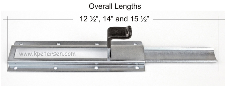 Dropleaf Table Hardware Detail Overall Lengths