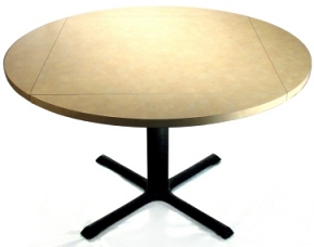 Drop Leaf Table Round