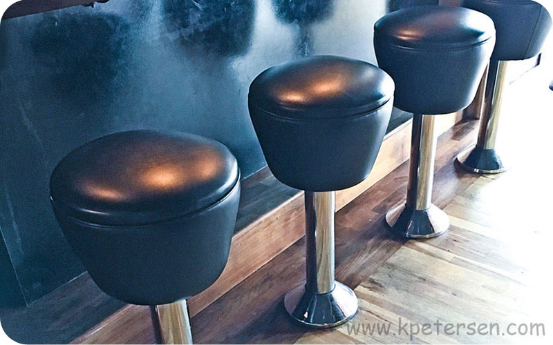 Drum Seat Bolt Down Counter Stool Bar Installatio