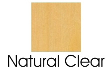 Natural Clear Finish On Beech Wood Species