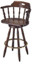 Matching Early American Wood Barstool