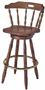 Early American Mates Bar Chair