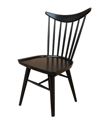Early American, Windsor Shaker Style Wood Restaurant Chair Wood Seat