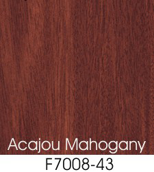 Acajou Mahogany Plastic Laminate Selection