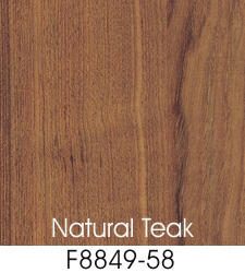 Natural Teak Laminate Selection