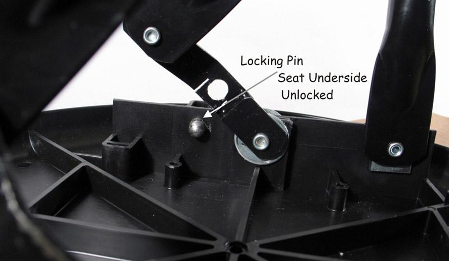 Folding Steel Bar Stools
