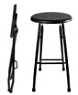 Outdoor Steel Folding Barstool